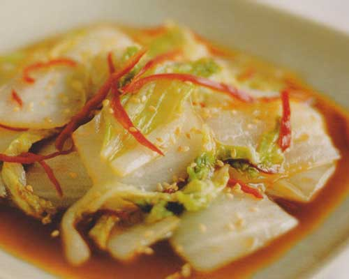 Stir-Fried Sweet and Sour Cabbage Recipe