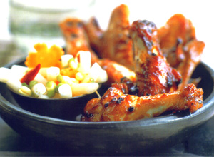 Caramelized Chicken Wings with Ginger Recipe